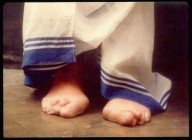 Mother Teresa's feet